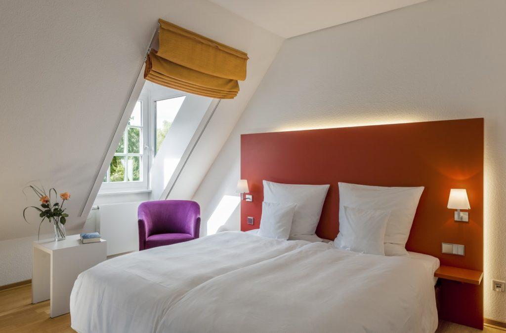 Doppelzimmer im Parkhotel Wolfsburg mit Superior Ausstattung für Gäste und Teilnehmer von Tagungen in Wolfsburg