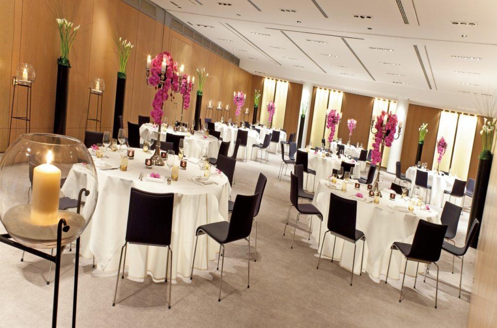 Einer der 9 Veranstaltungsräume des Ritz-Carlton, Wolfsburg
